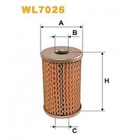 Масляный фильтр WIX WL7026