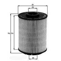 Масляный фильтр KNECHT OX 160D