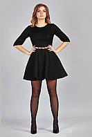 Черное платье Классика из гипюра