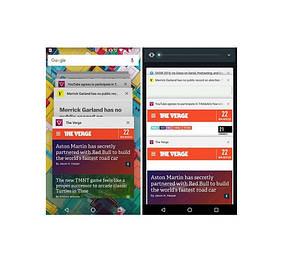 Вкладки Chrome снова собраны вместе по умолчанию для Android