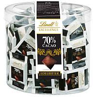 Мини-шоколад Lindt Excellence Minis 70% черный шоколад 70шт., 385г