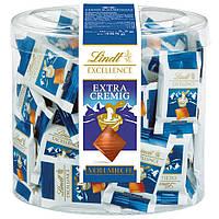 Мини-шоколад молочный сливочный Lindt Excellence Extra Cremig Minis 70шт., 385г