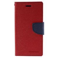 Чехол книжка Mercury Goospery Fancy Diary для LG Leon Y50 H324 Red