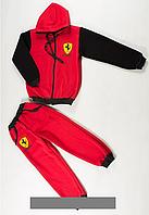 """Детский трикотажный спортивный костюм  """"Ferrari"""""""