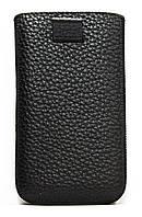 Чехол-карман для Nokia 501 кожаный