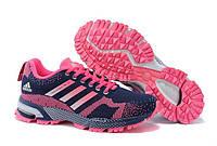 Кроссовки женские беговые Adidas Marathon (адидас) розовые
