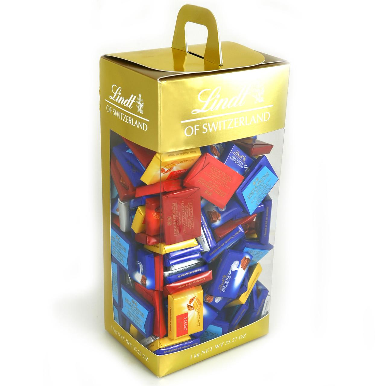 Коробка мини-шоколадок Lindt Napolitans, 4 вида, 1000г