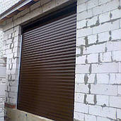 Роллеты на гараж, защитные роллеты