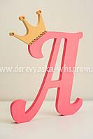 "Буква ""А"" с короной"