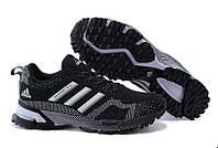 Кроссовки женские беговые Adidas Marathon (адидас) черные