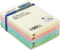 Стикер 38х51 100 лист, 3 шт.в блистере BM.2319-99 (пастель)