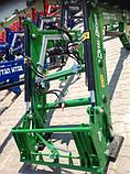 Фронтальный погрузчик Hydrometal на тракторы John Deere, фото 5