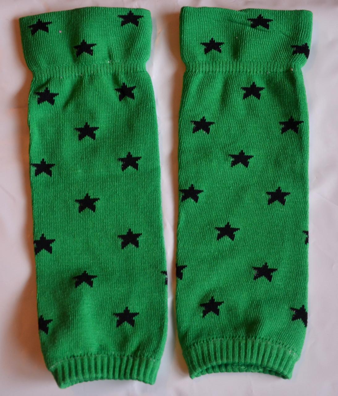 Гетры зеленые (звездочка)