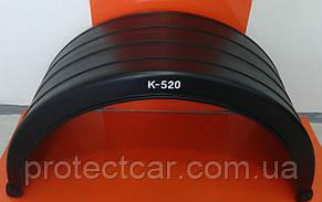 Крыло заднее пластиковое К-580 (прицепы, низкорамные АТС)