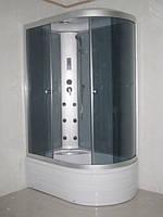 Гидробокс  120x80 с глубоким поддоном c электроникой правый/левый
