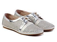 Туфли Etor 5375-11 39 серебристые, фото 1