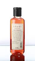 Травяной Шампунь Мед И Миндальное Масло, Кхади, (Honey - Almond Oil, Khadi)210 Мл.