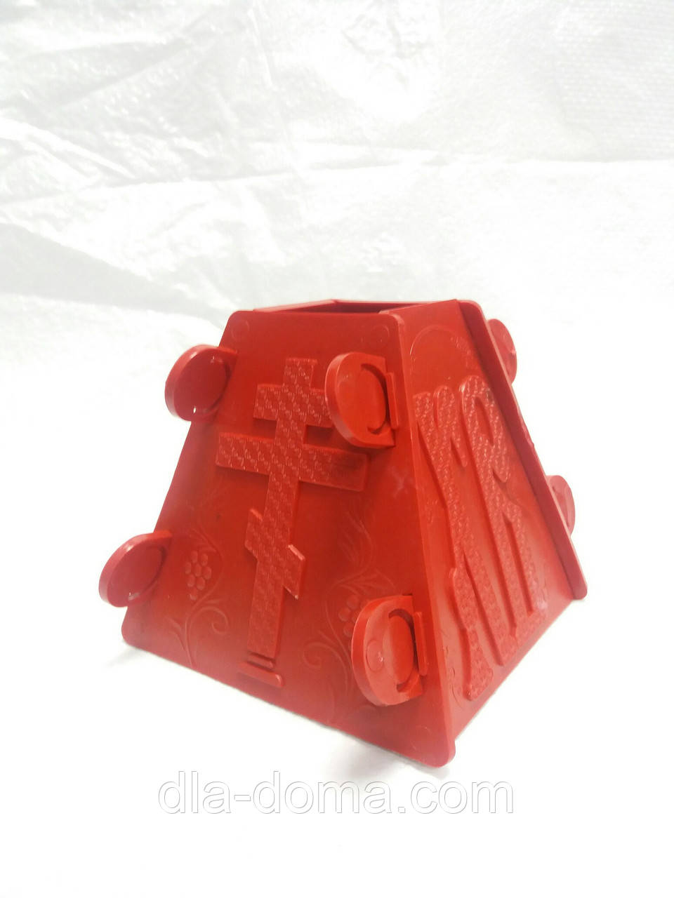 Форма для творожной пасхи пластиковая (средняя)