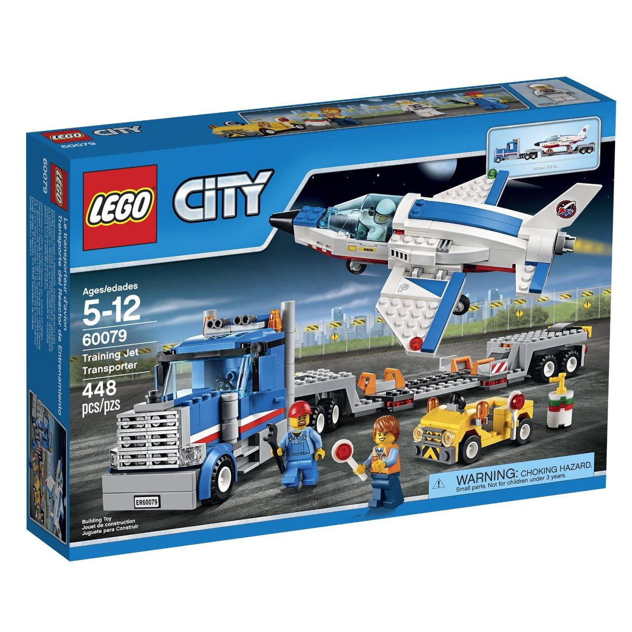 Конструктор Lego City Перевізник тренувального літака 60079.