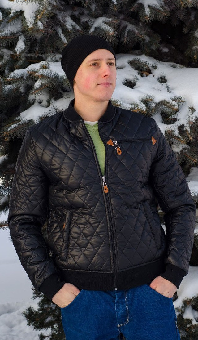 куртка мужская стеганная