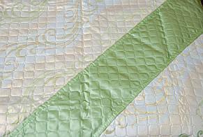 Покрывала-плед, орнамент зеленый, фото 2