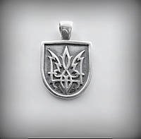 3020 Серебряный подвес Огненный трезубец 925 пробы от производителя в Харькове