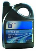 Масло моторное полусинтетическое GM 1942046 93165216 1942201 9117540 OPEL SAE 10W-40 (ACEA A3/B3/B4, API SL/CF) 5L General Motors 09117540