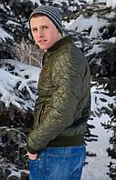 Куртка демисезонная мужская 46, хаки