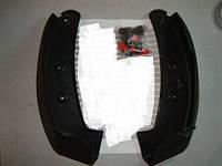 Брызговики задние OPEL VECTRA-C седан, хэтчбэк до 2005 года комплект 2шт