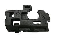 Буфер амортизационный ( наполнитель , амортизатор удара, пенопласт , направляющая) переднего бампера правый GM 1406056 13110343 OPEL Astra-H 3 door
