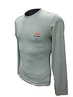 Мужской лонгслив (футболка долгий рукав) Umbro Турция