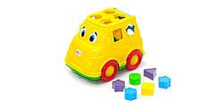 Детский развивающий автомобиль микроавтобус с фигурками.