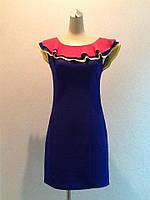 Платье Lanvin летнее с оборкой