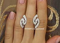 Серебряные серьги арт. 103735