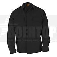 Рубашка BDU 65/35 Long Sleeve Shirt Black MR PROPPER