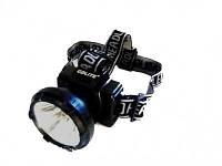 Налобный фонарик, фонарь на голову, светодиодный, аккумуляторный, налобный фонарик GD-211 А,