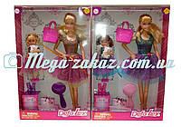 """Кукла Defa Lucy """"Супер Модница"""" с дочкой, 2 вида: 4 аксессуара в комплекте"""