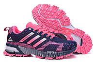 Женские кроссовки Adidas Marathon  pink