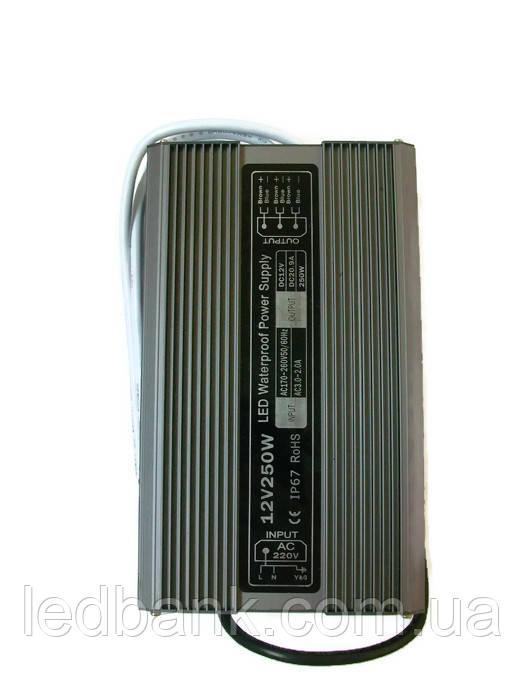 Блок питания герметичный 12В 250 Вт PS-250-12
