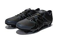 Бутсы  Adidas X 15.1 FG черные