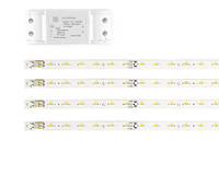 Светодиодный комплект 30Вт (4*24LED) и блок питания