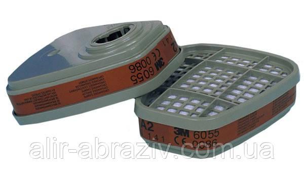6055 Фильтр 3М для защиты от органических газов и паров