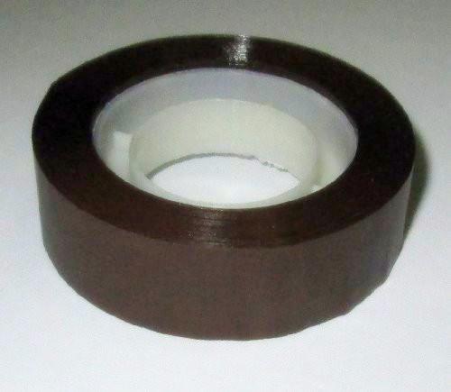Скотч флористический 1,5 см, коричневый