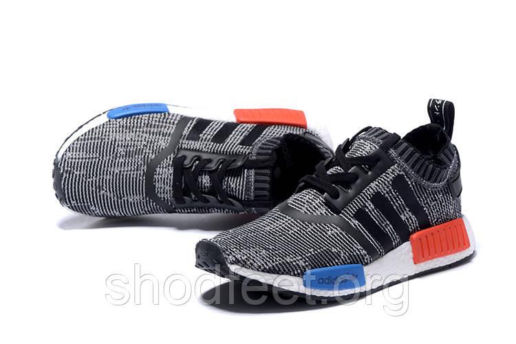 Мужские кроссовки Adidas Originals NMD Runner Primeknit Grey