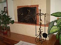 Кованые каминные принадлежности №12