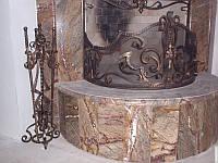 Кованые каминные принадлежности №161