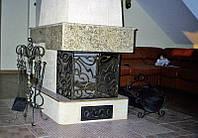Кованые каминные принадлежности №168
