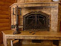 Кованые каминные принадлежности №173