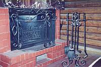 Кованые каминные принадлежности №179