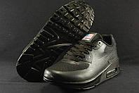 Черные кроссовки  Nike Air Max 90  Hyperfuse 36 размер